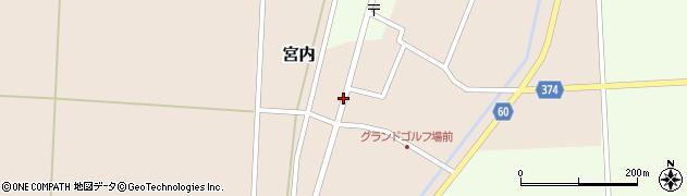 山形県酒田市宮内本楯52周辺の地図