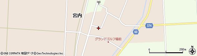 山形県酒田市宮内本楯49周辺の地図