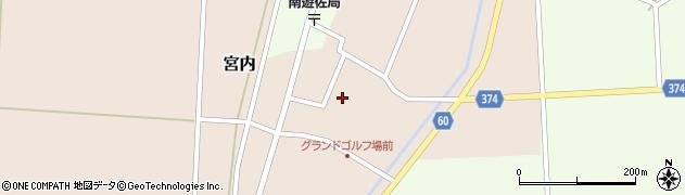 山形県酒田市宮内本楯93周辺の地図