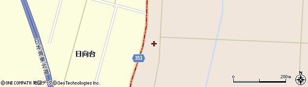 山形県酒田市宮内南谷地周辺の地図