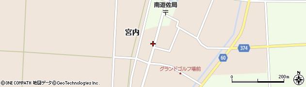 山形県酒田市宮内本楯55周辺の地図