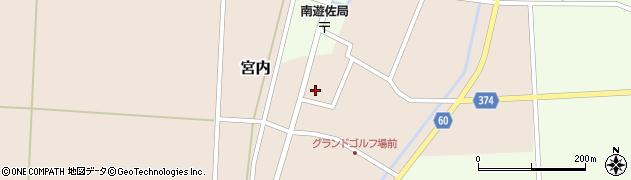山形県酒田市宮内本楯66周辺の地図
