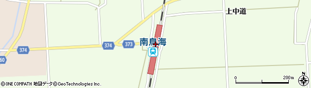 山形県酒田市米島下中道2周辺の地図