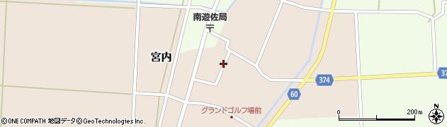 山形県酒田市宮内本楯72周辺の地図