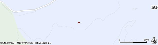 山形県酒田市泥沢下ミノワ周辺の地図