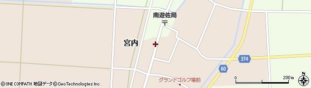 山形県酒田市宮内本楯58周辺の地図