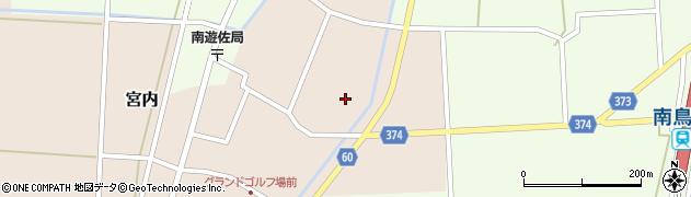 山形県酒田市宮内本楯117周辺の地図