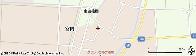 山形県酒田市宮内本楯73周辺の地図