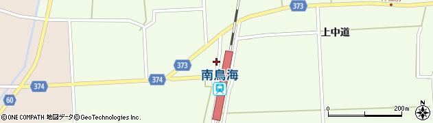 山形県酒田市米島下中道45周辺の地図