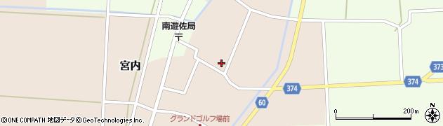 山形県酒田市宮内本楯102周辺の地図