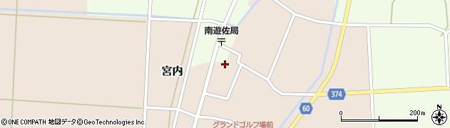 山形県酒田市宮内本楯60周辺の地図