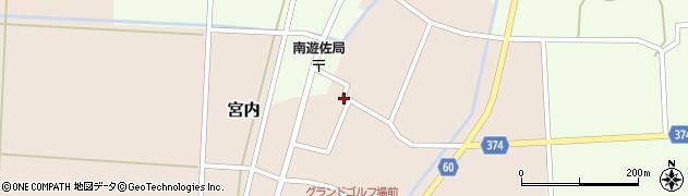 山形県酒田市宮内本楯75周辺の地図