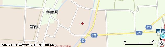 山形県酒田市宮内本楯105周辺の地図