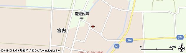 山形県酒田市宮内本楯83周辺の地図
