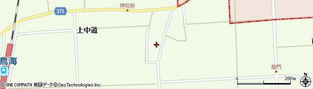山形県酒田市米島上中道8周辺の地図