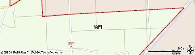 山形県酒田市米島(前門)周辺の地図