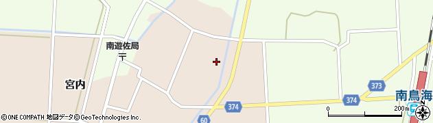 山形県酒田市宮内本楯177周辺の地図