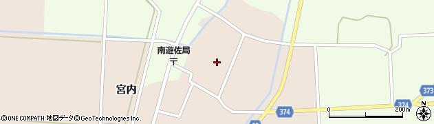 山形県酒田市宮内本楯127周辺の地図