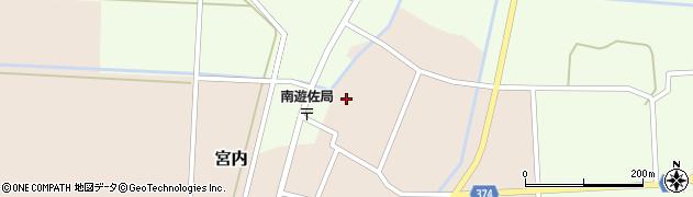 山形県酒田市宮内本楯134周辺の地図