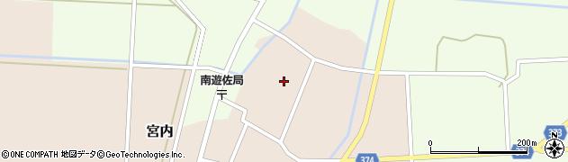 山形県酒田市宮内本楯128周辺の地図