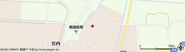 山形県酒田市宮内本楯131周辺の地図