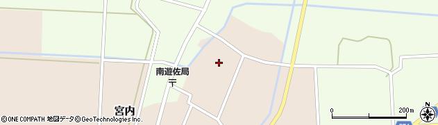 山形県酒田市宮内本楯129周辺の地図
