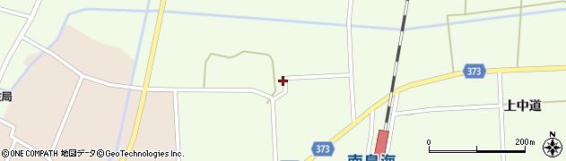 山形県酒田市米島中草田23周辺の地図