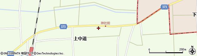 山形県酒田市米島上中道26周辺の地図