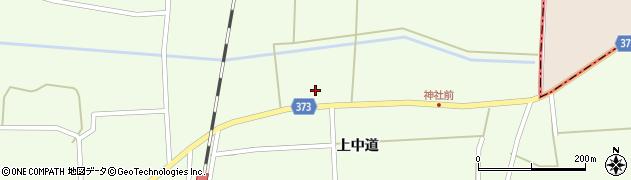 山形県酒田市米島上草田101周辺の地図