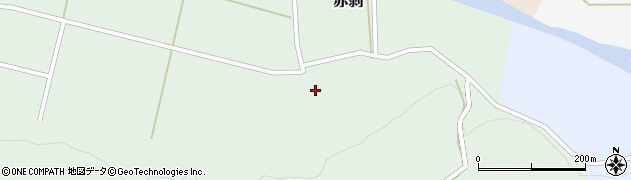 山形県酒田市赤剥村腰54周辺の地図