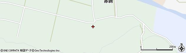 山形県酒田市赤剥村腰52周辺の地図