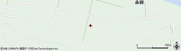 山形県酒田市赤剥道ノ上周辺の地図