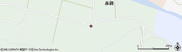 山形県酒田市赤剥村腰50周辺の地図