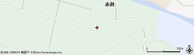 山形県酒田市赤剥村腰53周辺の地図
