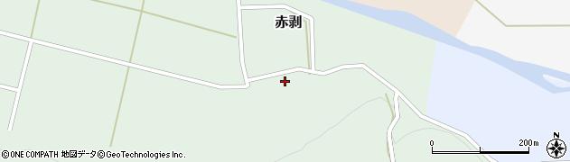 山形県酒田市赤剥村腰71周辺の地図