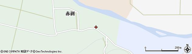 山形県酒田市赤剥村腰17周辺の地図