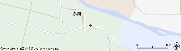 山形県酒田市赤剥村腰21周辺の地図