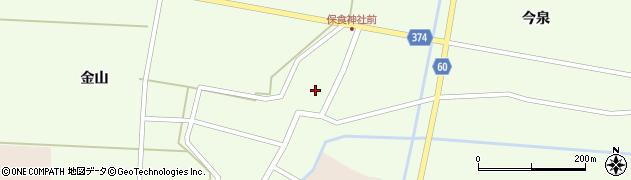 山形県酒田市千代田外野79周辺の地図