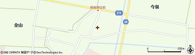 山形県酒田市千代田外野90周辺の地図