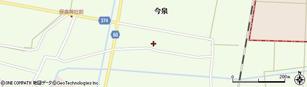 山形県酒田市千代田宅田42周辺の地図