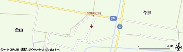 山形県酒田市千代田外野100周辺の地図