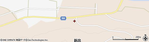 山形県酒田市新出村ノ前24周辺の地図