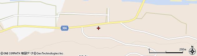 山形県酒田市新出周辺の地図