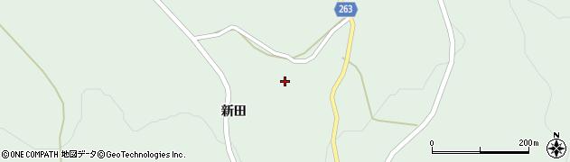 岩手県一関市大東町大原新田16周辺の地図