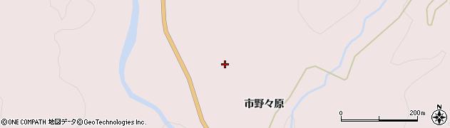 岩手県一関市厳美町(市野々原)周辺の地図