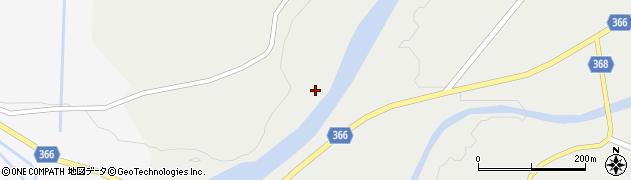 山形県酒田市升田下内川周辺の地図