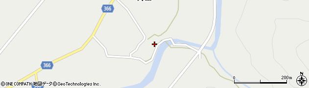 山形県酒田市升田東向49周辺の地図