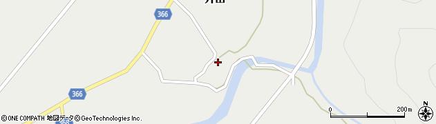 山形県酒田市升田東向50周辺の地図