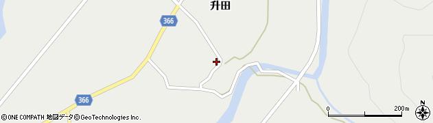 山形県酒田市升田東向53周辺の地図