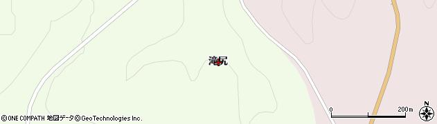 岩手県一関市大東町摺沢滝尻周辺の地図